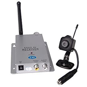 Mini Wireless Color Camera with Microphone
