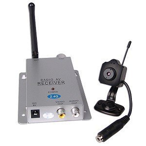 Mini Wireless Color Camera with Microphone without stand