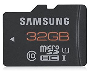 Samsung 32gb Micro Sdhc Plus Classe 10 Uhs-i 48mb/s with Adpter Sd of Samsung