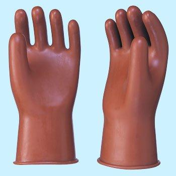 工業用手袋スモーク短大 L