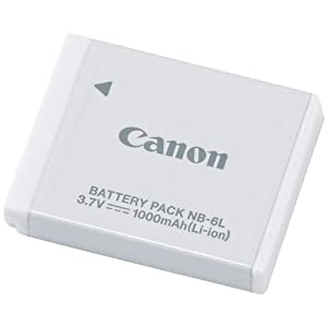 Amazon Com Canon Battery Pack Nb 6l Camera Amp Photo