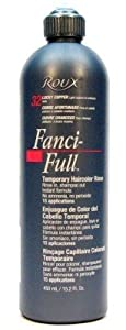 roux fanci full rinse 32 lucky copper 15 2 oz 3 pack with free nail