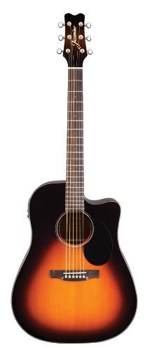 Jasmine Jd39Ce-Sb J-Series Acoustic-Electric Guitar, Sunburst