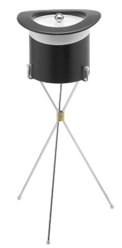 Kraftware Chrome Ice Bucket Stand
