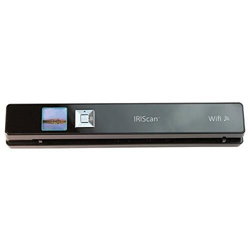 Iris 458129 I.R.I.S. IRIScan Anywhere 3 Wifi Cordless Sheetfed Scanner – 1200 dpi Optical – Ultra-compact, lightweight and battery-powered mobile wifi scanner