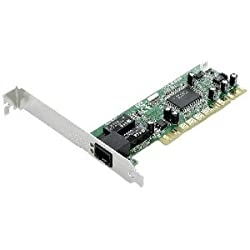 ASUS 10/100/1000Mbps Gigabit PCI Ethernet Adapter Includes Full Height and Low Profile Bracket (NX1101)