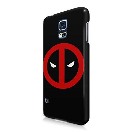 Deadpool Circle Logo Superhero Comics Hard Snap-On Protective Case Cover For Samsung Galaxy S5