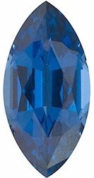 Marquise Shape Blue Sapphire Loose Gemstone, Quality Grade, AAA 0.06 carats 3.50 x 1.50 mm