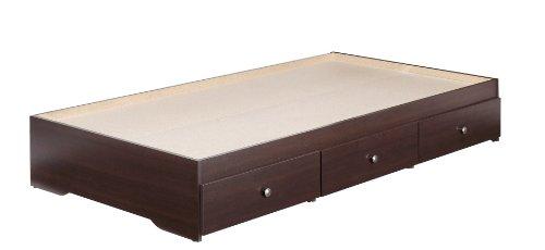 Nexera 4600 Pocono 3-Drawer Storage Bed, Twin, Espresso front-488413