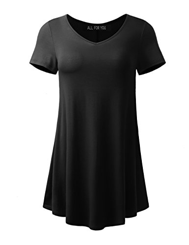 Buy Womens Short Sleeve Flare Tunic Now!