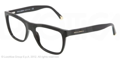 Dolce & Gabbana DG3108 Eyeglasses-501 Black-53mm