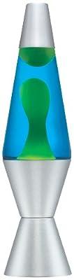 Lava Lamp Classic Lava Lamp, 14.5-inch, Green/ Blue
