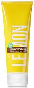 Bath & Body Works Lemon Signature Vanillas Triple Moisture Body Cream 8 oz (226 g)