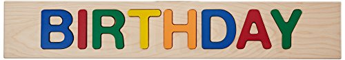 aBaby Personalized Birthday Primary Name Puzzle