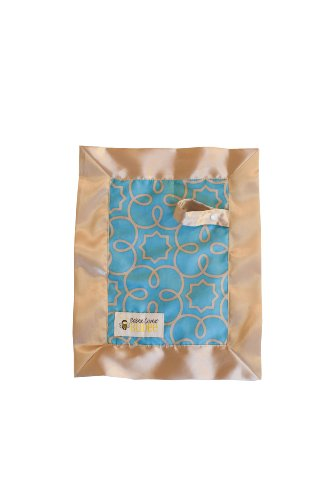 Babee Covee Budee Multi-Purpose Baby Blanket, Turquoise, Almond