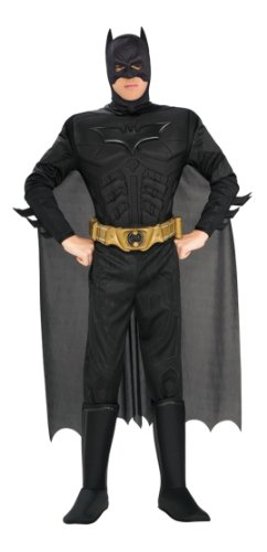 The Dark Knight Batman Deluxe Muscle Chest Costume