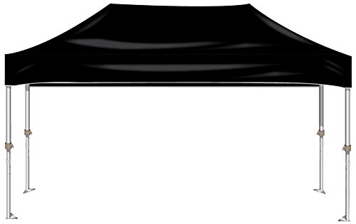 Kd Kanopy Xtf200K Xtf Aluminum Frame Indoor/Outdoor Portable Canopy, 10 By 20-Feet, Black