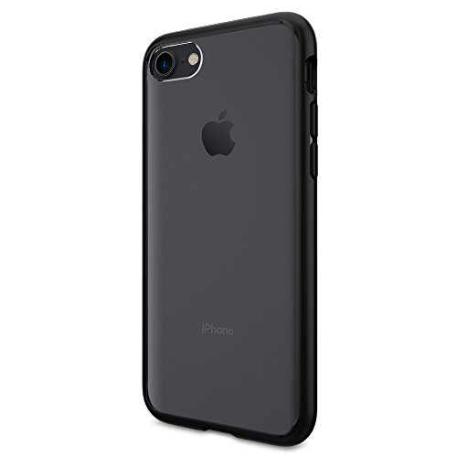 Coque iPhone 7, Spigen® [Ultra Hybrid] AIR CUSHION [Noir] Clear back panel + TPU bumper Coque Pour iPhone 7 (2016) - (042CS20446)