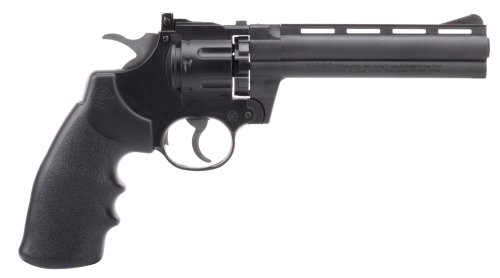 Crosman 3576 Semi-Auto CO2 Powered Pellet Revolver with 6-Inch Barrel