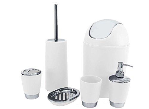stella-artois-set-accessori-per-il-bagno-6-pezzi-dispenser-di-sapone-bicchiere-porta-spazzolini-bian