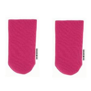 Samsung Universal Mobile Phone Sock FOR Samsung Galaxy S II/ Galaxy Note and many more - Pink - SAMSKPI (PACK OF 2))