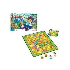 Chutes and Ladders Diego Edition by Hasbro (English Manual)