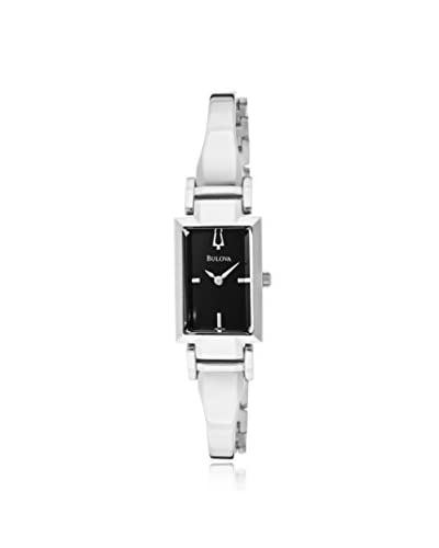 Bulova Women's 96L138 Dress Silver/Black Stainless Steel Watch