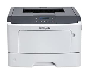 Lexmark 35S0232 - MS410DN A4 Mono Laser Printer - A4 Mono Laser Printer 38ppm Mono 1200 x 1200 dpi 256MB Internal Memory 1 Years On-Site Warranty