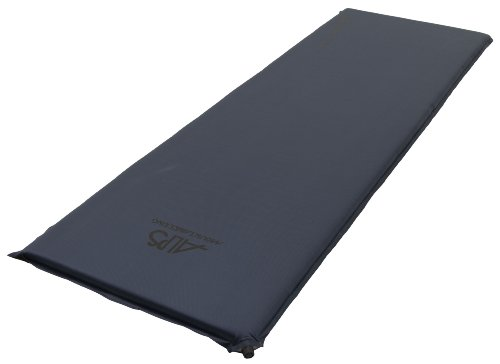 ALPS Mountaineering Lightweight Series Self-Inflating Air Pad (Steel Blue, Long)