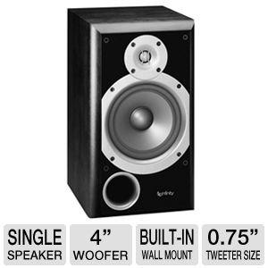 Infinity Primus P143 Two-Way 4-Inch Bookshelf/Satellite Speaker (Black, Each)