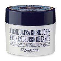 L'Occitane Shea Butter Ultra Rich Body Cream, 7 fl. oz.