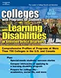 Coll for Stdts w/Learning Disab/ADD, 7/e (Peterson's Colleges With Programs for Students With Learning Disabilities Or Attention Deficit Disorders)
