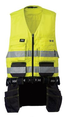 Bridgewater Vest Class-2 Hi Vis Helly Hansen Workwear (Medium)