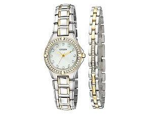 Citizen EL299451D Quartz Watch And Bracelet Set