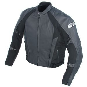 Joe Rocket Mens Pro Street Drag Race Motorcycle Jacket, blk