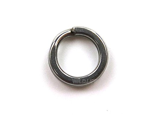 Wild.life® 170pcs/lot 3 Sizes 10mm 12mm 13mm Heavy Duty Stainless Steel Split Rings (10mm Stainless Steel Split Ring compare prices)
