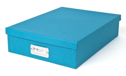 Bigso Oskar Document/Letter Box, Turquoise