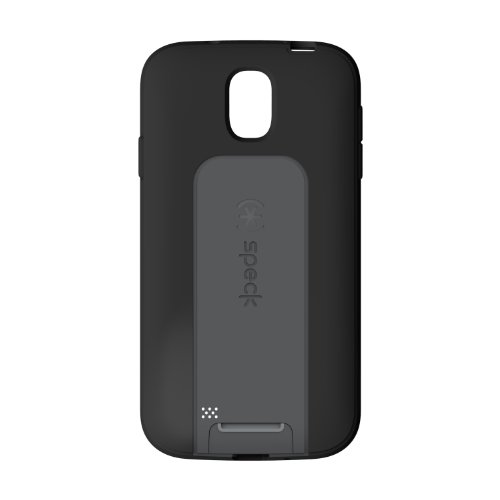 Speck Products SmartFlex View Samsung Galaxy S4 Case - Retail Packaging - Black/Slate Grey