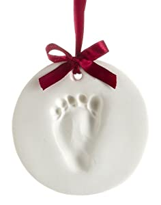 Pearhead Babyprints Ornament, Holiday