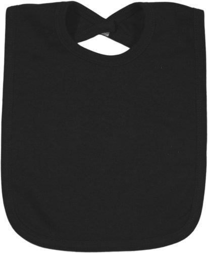 Black Baby Bib front-1035007