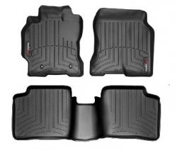img View detail Weathertech 44003 -1-44061-2 Front and Rear Floorliners Black Cadillac Escalade 02-06 from amazon.com