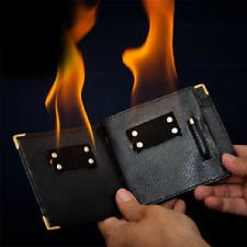 M is magic Magic Trick fire wallet