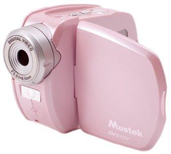 Mustek DV510V Camcorder - Pink