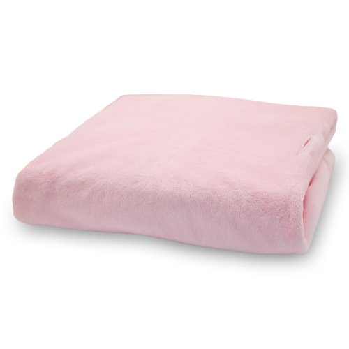 Rumble Tuff  Silky Minky Changing Pad Cover, Pink,Standard