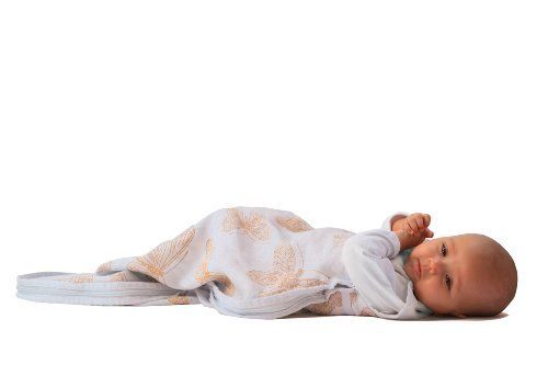 """Merino Kids """"Butterfly"""" Limited Edition Linen Outer Merino Baby Sleep Sack For Babies 0-2 years, Natural"""