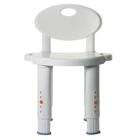 Michael Graves Bath And Shower Stool Seat With Back
