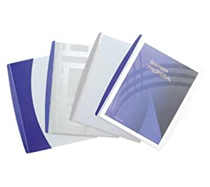 GBC Presentation Sleeve Report Cover, Letter Size, Assorted Colors (W21529)