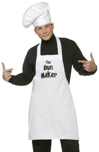 Rasta Imposta Mens Bun in the Oven Maker Halloween