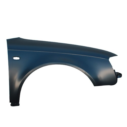 CarPartsDepot, Right (Passenger) Side Front Fender 2/4DR Primed Black Steel, 371-11859-02 AU1241117 8E0821106F (Audi A4 Right Fender compare prices)