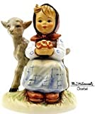 Hummel Figurine - Good Friends - Girl with Lamb / Animal - Goebel Porcelain